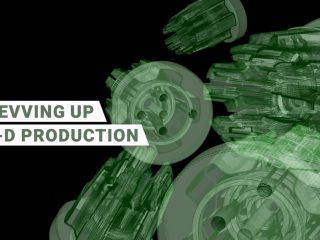 Revving Up 3-D production