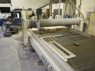 Software Keeps Eye on Waterjet Machine